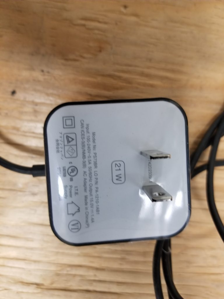 Amazon Echo and Fire TV Power Adapter
