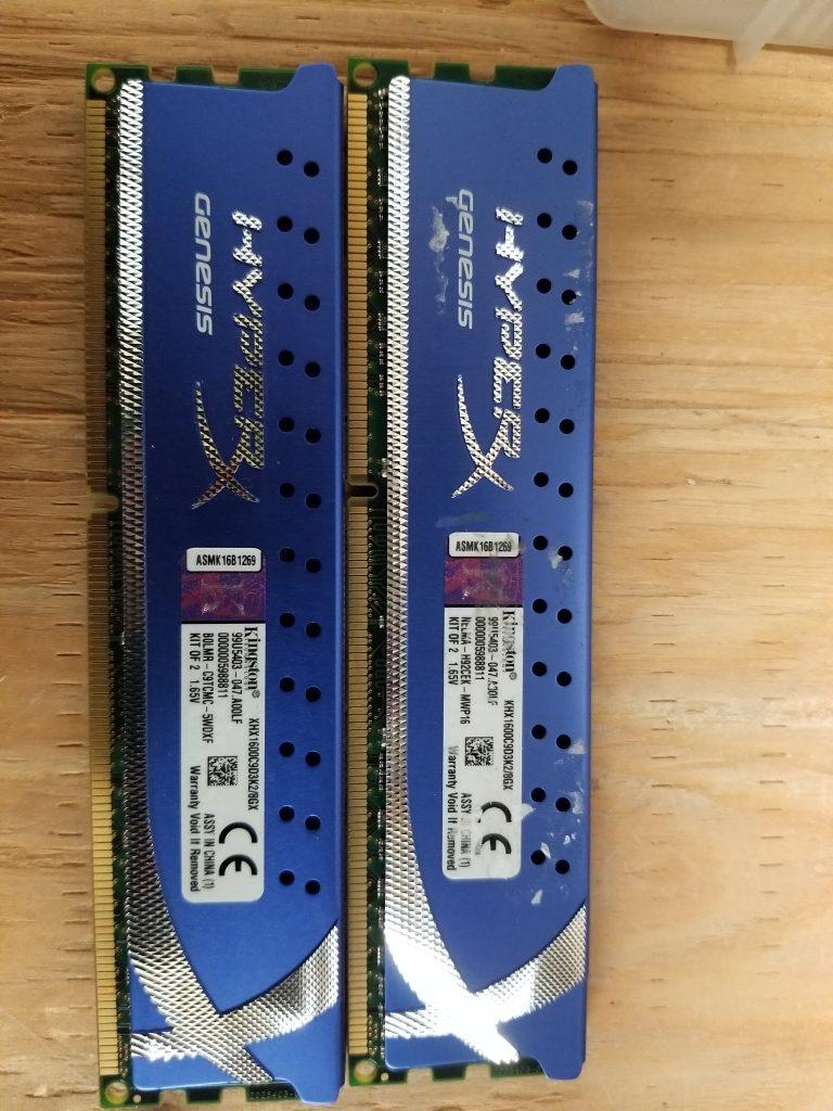 Kingston DDR3-1600(12800) KIT 8GB (4GB X 2)