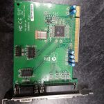 PCI-2S1P(uPCI952) Serial Parallel Adapter Card