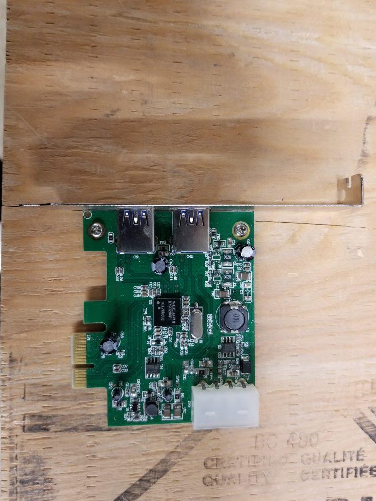 PCI-E to USB 3.0