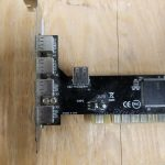4 Port External USB 2.0 with One Internal Shared Port PCI Card SD-V2-5U