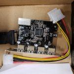 PCI-E USB 2.0 4 port