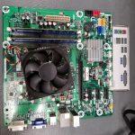 HP 657134-003 AAHD2-HY Motherboard & Heat sink/Fan & WiFi card & I/O Shield