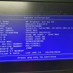 HP MS-7860 Ver: 2.0 Socket LGA1150 Motherboard & Backplate 785906-001 786170-001