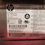 HP Case with Power Supply