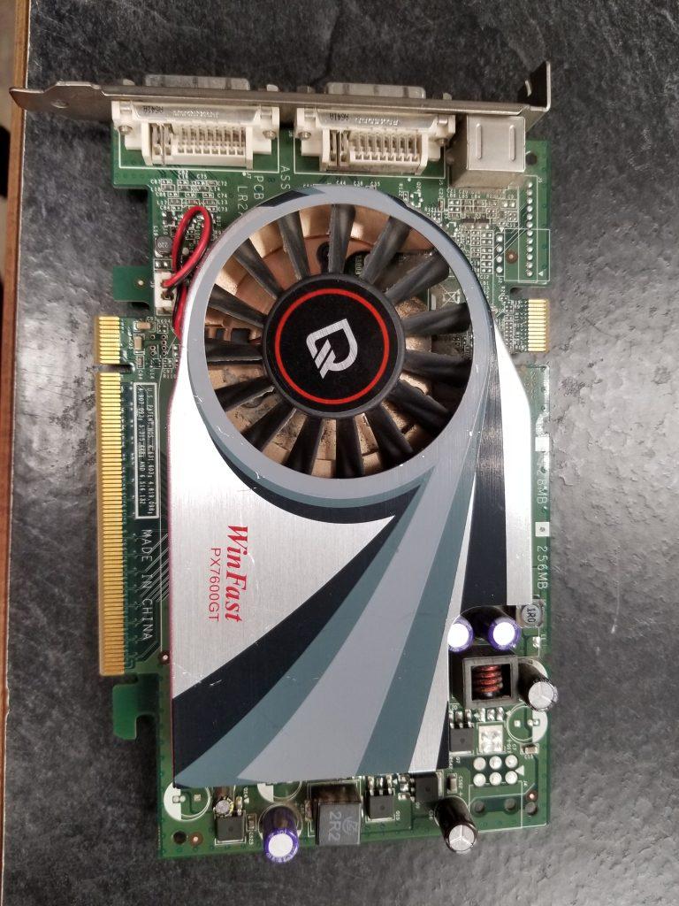PX7600GT TDH PCI E256MB DDR3 128-bit Dual link DVI-I Single link DVI-I