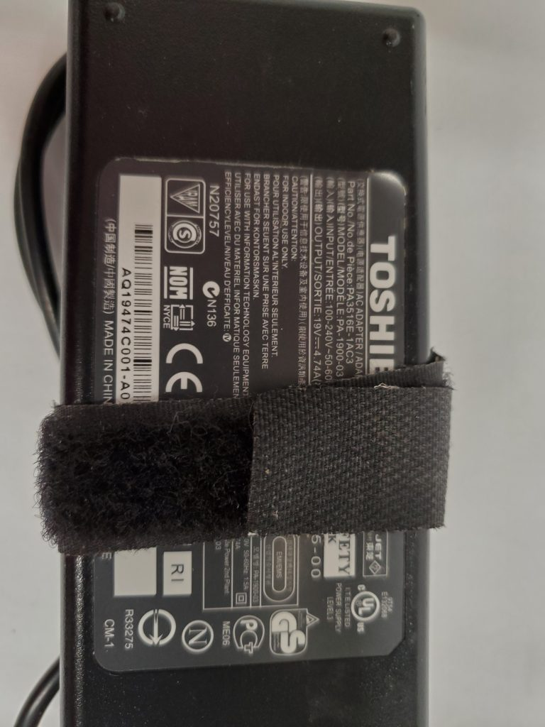Toshiba power adapter 19V 4.74A